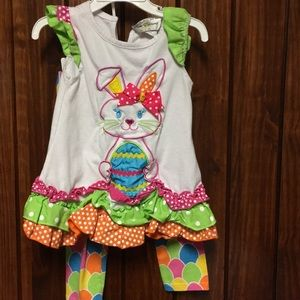 Easter toddler outfit